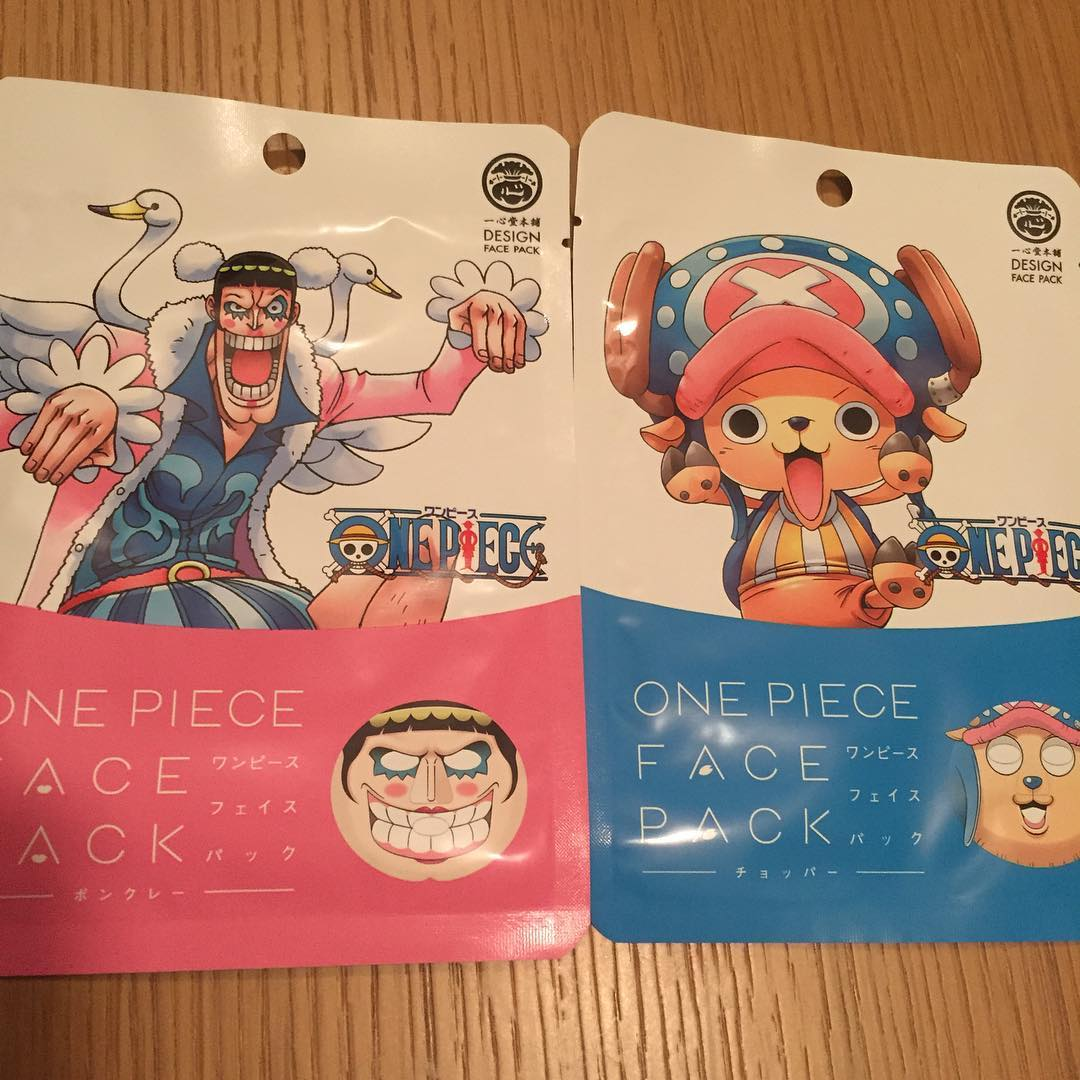 One Piece face pack